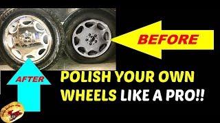 How To Polish Aluminum Wheels/Rims to LOOK LIKE CHROME