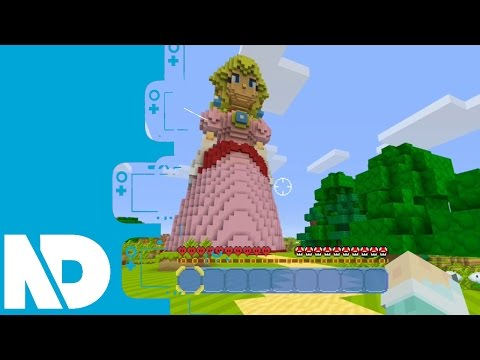[Minecraft Wii U] Super Mario Mash Up World Gameplay