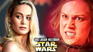 Brie Larson Meltdown With Star Wars Revealed! (Star Wars Explained) Mike Zeroh