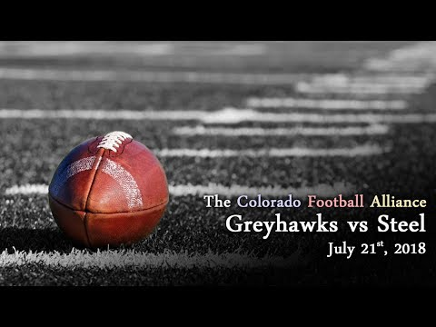 Football - Colorado Greyhawks vs Pueblo Steel