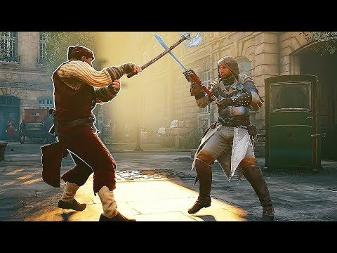 Assassin's Creed Unity Heavy Falchion Rampage & Saving Napoléon's Fiancée