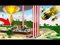 WORLD'S SAFEST HOUSE vs MINECRAFT NUKE MISSILES!?... (EXTREMELY DANGEROUS)