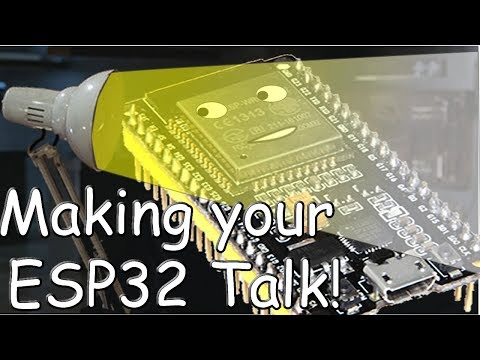 Make your ESP32 talk, playing WAV files on your ESP32
