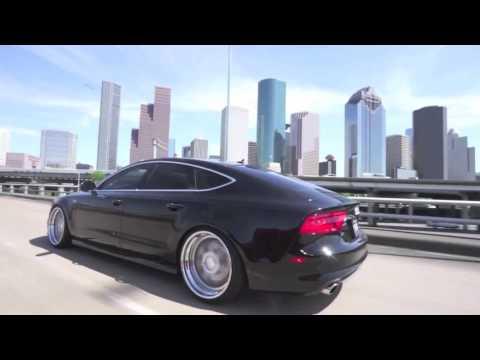 Audi A7 on Avant Garde wheels (AG wheels)