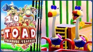 Captain Toad: Treasure Tracker #10 - Biedronkowy spacerniak!