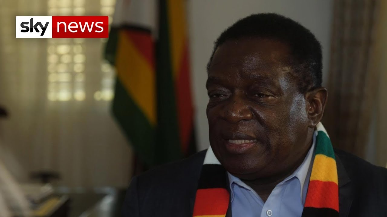 Zimbabwe's Emmerson Mnangagwa says he wants to be the 'people's leader'