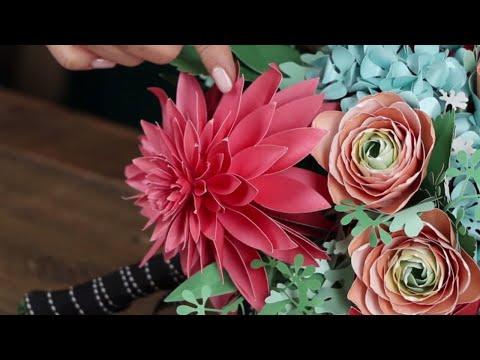 How-To: Paper Dahlia Flower