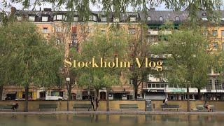 Stockholm Vlog 스톡홀름 여행, 토템, 아…
