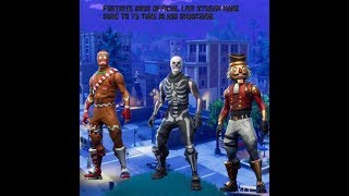 Fortnite Gods | 4 pelople | 603 wins combined | 500 subs for a giveaway