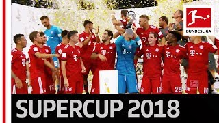 Download Video FC Bayern München Trophy Lifting - 2018 Supercup MP3 3GP MP4