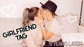 Girlfriend Tag 5 Years Later.. As Fiancees! | LGBTQ+