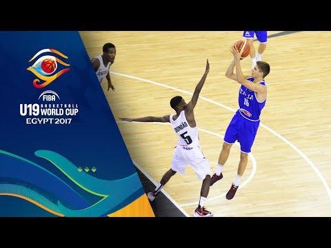 Angola v Italy - Full Game - FIBA U19 Basketball World Cup 2017