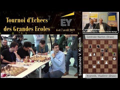 Tournoi D'Echecs Des Grandes Ecoles 2019 - Simultanée De Vladimir Kramnik