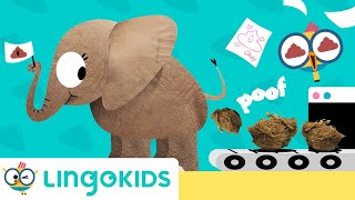 WHAT IS MANURE 💩 Introducing Composting for Kids   Lingokids