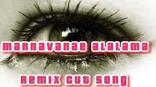 Mannavanae alalama remix cut song