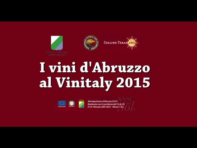Il Consorzio Tutela Vini Abruzzo al Vinitaly 2015