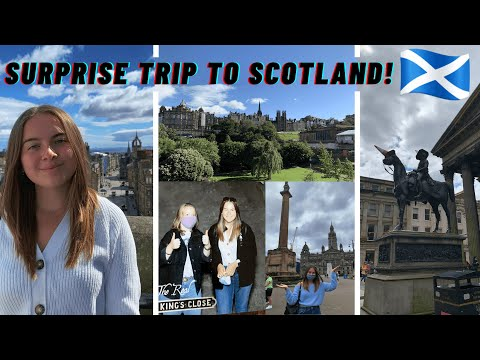 SURPRISING MY SISTER WITH A TRIP TO SCOTLAND! | FIRST POST-LOCKDOWN HOLIDAY VLOG! (ad)