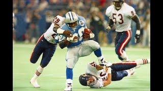 Barry Sanders DESTROYS The Bears Defense While Scoring 3 Touchdowns! Bears vs Lions 1997