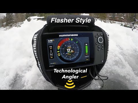 Humminbird ICE HELIX 7 | Flasher Style | The Technological Angler