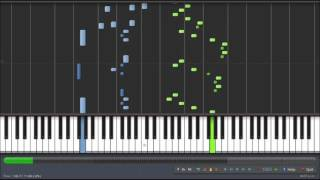 Sonata No. 1 in C, K. 279 - Mozart/ 1er Movimiento (Allegro). Piano Tutorial - Synthesiaᴴᴰ