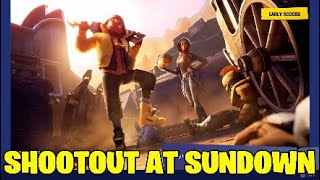 Fortnite shootout at sundown. All challenges Leaked - New skins?