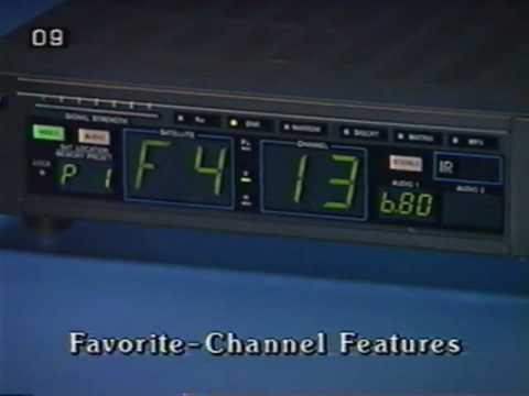 Radioshack 1990 Satellite System