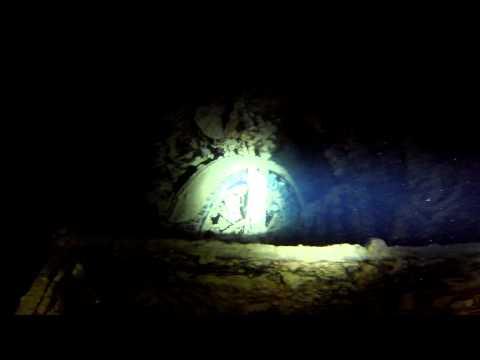 Tauchgang am Wrack der SS Thistlegorm bei Nacht Night Dive - Rotes Meer - Ägypten