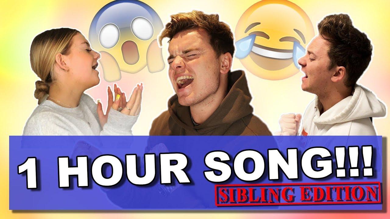 Download SIBLING ONE HOUR SONG CHALLENGE | ft. Conor Maynard & Anna Maynard