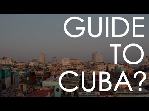 Your Essential Travel Guide To Cuba!