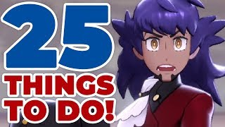 25 Things To D๐ After Finishing Pokémon Sword & Shield
