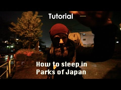 how to camp in Japan free accommodation | Follow Mike in Japan