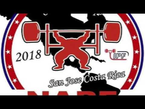 Equipo de Puerto Rico al Panamericano de Bench Press NAPF/FESUPO en Costa Rica