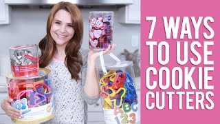 7 Ways to Use Cookie Cutters | Everything You Want to Know from Rosanna Pansino
