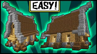 minecraft medieval simple tutorial compact