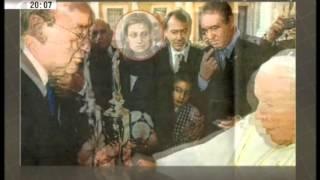 Photoshop do Futebol Clube do Porto elimina Carolina Salgado de foto com o Papa João Paulo II!