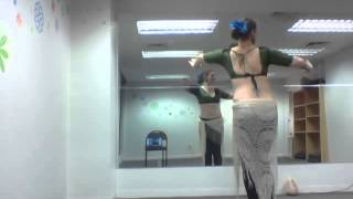 Torso rotation/torso twist drill