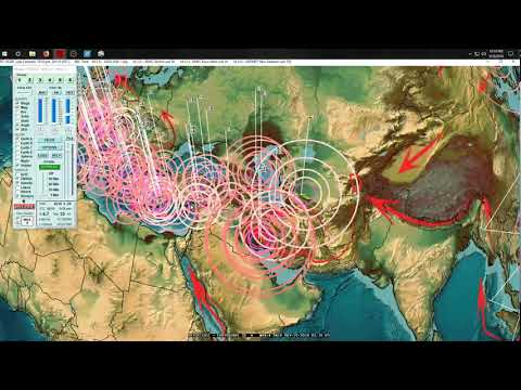 5/28/2018 -- West Coast USA Earthquakes -- Whole plate being displaced in 24 hours time