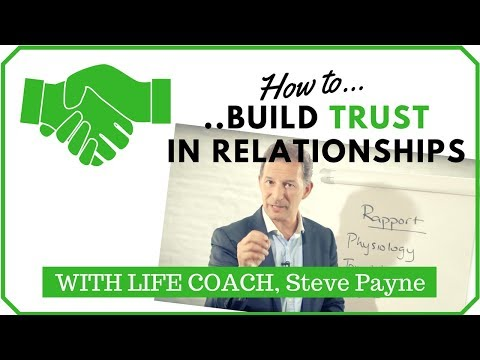 How to build trust in relationships: Simple techniques - transform how you get on with others (2018)