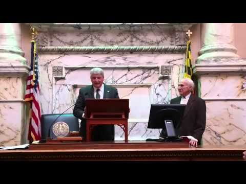 Maryland House of Delegates Recognizes Cantello With Proclamation