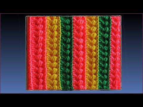 Узоры для вязание пледов крючком