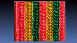 Узор для пледа крючком. Плед крючком. Вязание пледа. Crochet plaid.