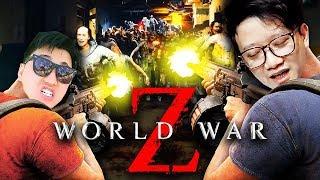 WORLD WAR Z #1: CHƠI GAME ZOMBIE HAY NHẤT 2019 VS TEAM ĐỤT !!! Choáng ngợp với biển người !!!