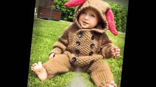 Вязаные комбинезоны для малюток до года(Детские комбинезоны очень практичны и удобны . Во время прогулок комбинезоны просто незаменимы! Посмотрите..., 2015-03-29T09:53:17.000Z)