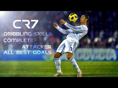 Football Skill - Ronaldo Skill Tricks Free Kick and Best Goal
