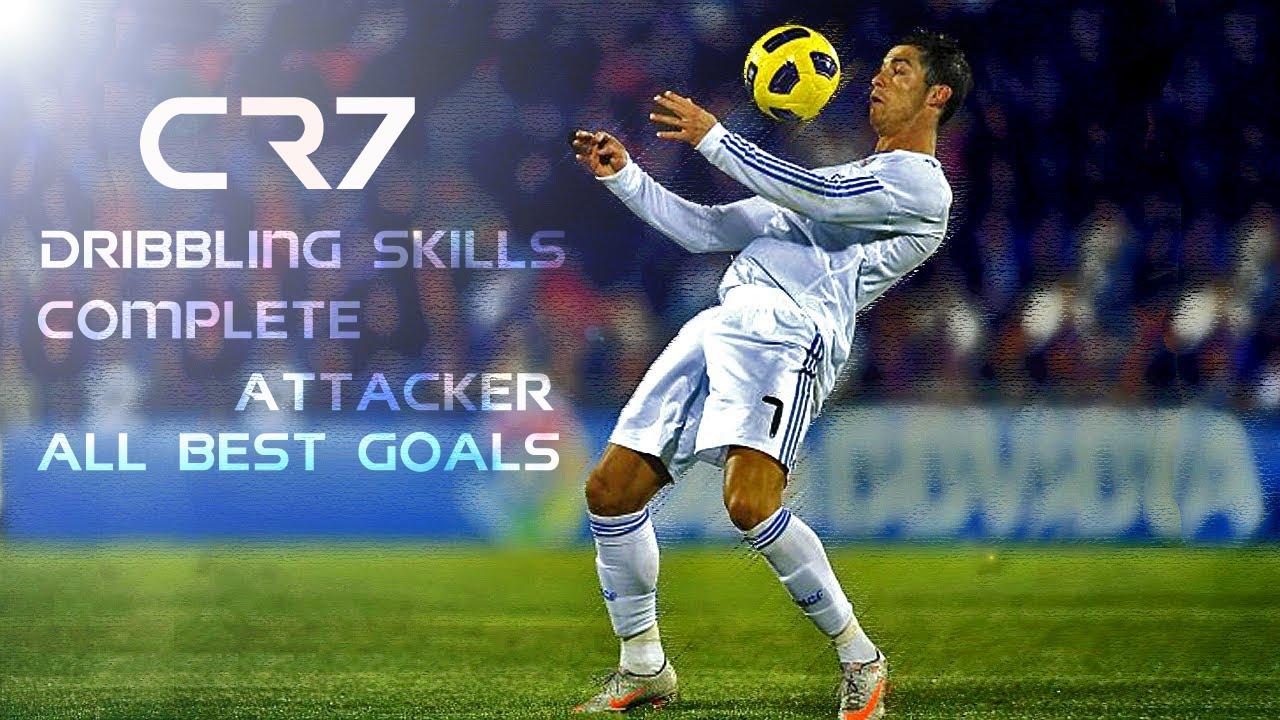 Football Skill Ronaldo Skill Tricks Free Kick And Best Goal Youtube