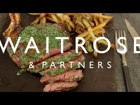Seared Waitrose 1 Côte De Boeuf With Herb Butter | Waitrose