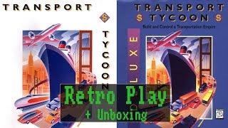 Retro Play: Transport Tycoon / Transport Tycoon Deluxe - mit Unboxing (DOS, 1994/1996) - [ Deutsch ]