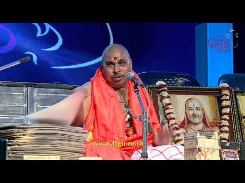Sri Ramachandra Acharya performing @ 53rd Bengaluru Ganesh Utsava...!!!