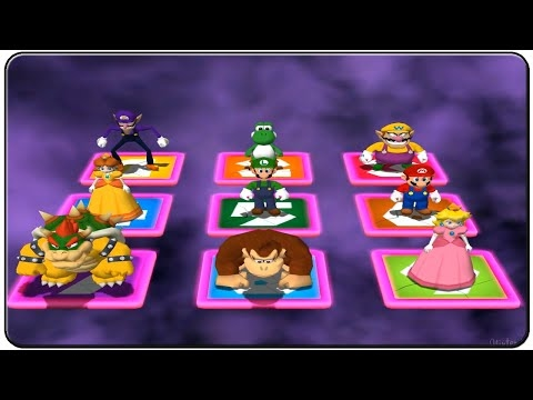 ⒽMario Party 4 All Minigames