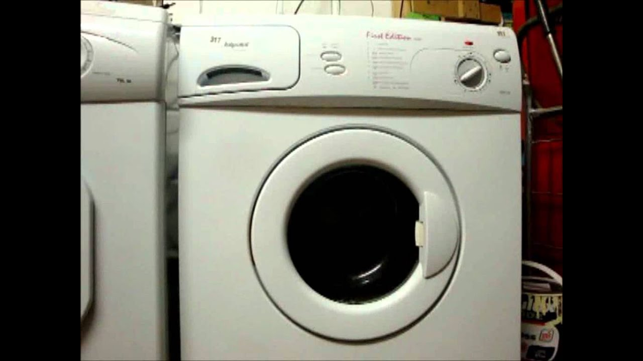 hotpoint aqualtis washing machine manual